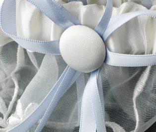 Embroidered Bridal Garter