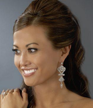 Chandelier Wedding Earrings