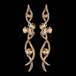Bridal Dangle Earrings
