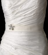 Bridal Brooch Sash