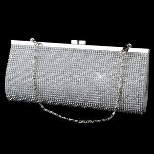 Rhinestone Clutch Evening Bag