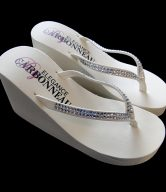 Wedge Bridal Flip Flops