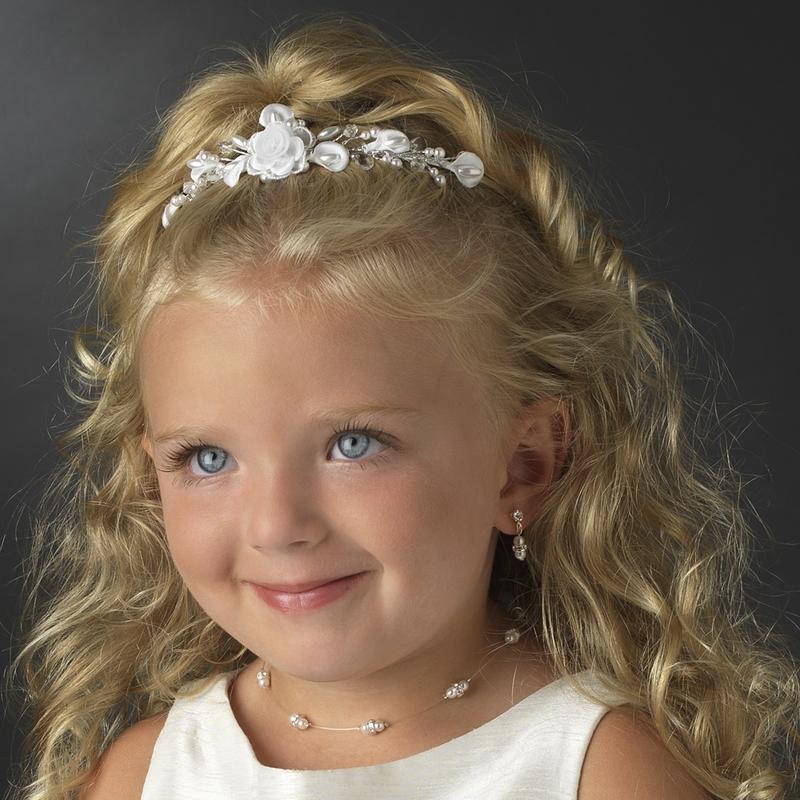 Double Pearl Illusion Kid Jewelry Set