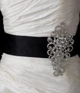 Rhinestone Bridal Brooch