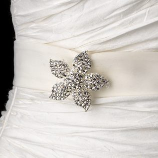 Bridal Brooch Belt