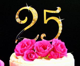 Number Cake Topper