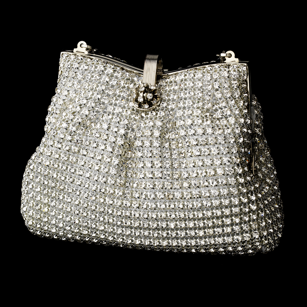 Glamorous Swarovski Crystal Evening Bag