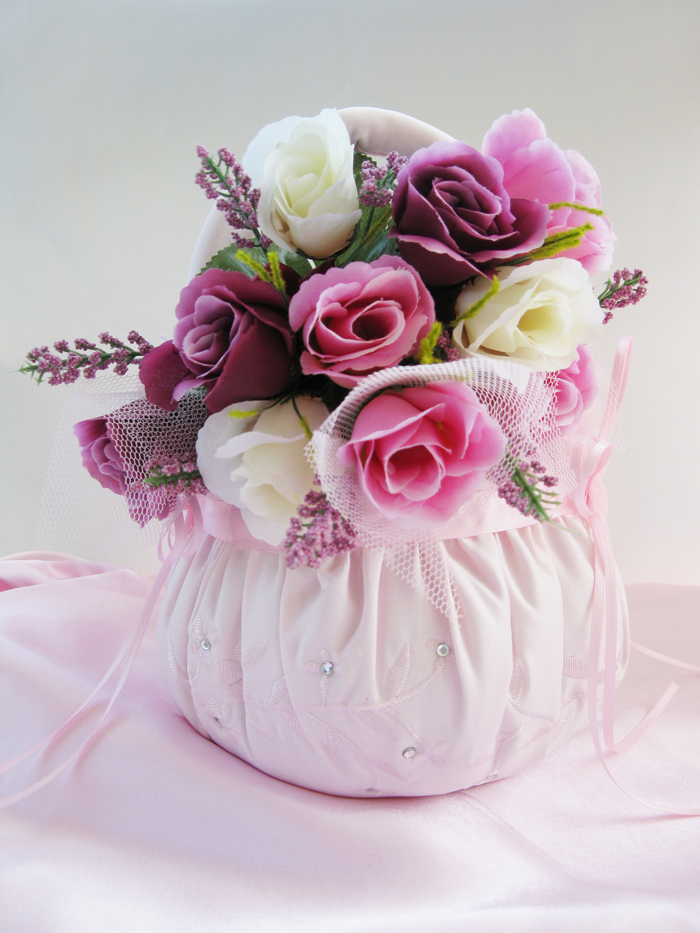 flower basket for wedding pretty bridal flower basket bridal hair 4132