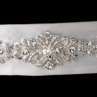 Vintage Wedding Sash Belt