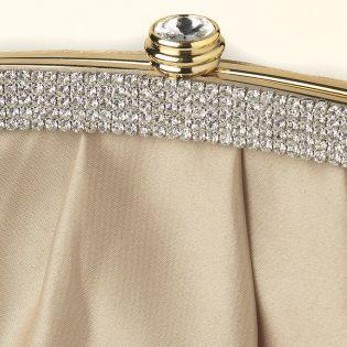 Satin Bridal Clutch