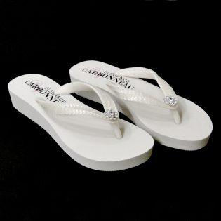 Swarovski Bridal Flip Flops