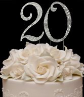 Number Cake Topper Set