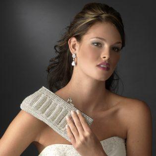 Rhinestone Bridal Clutch