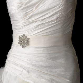 Wedding Sash Brooch