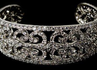 Bridal Cuff Bracelet