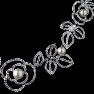 Rose Jewelry Set