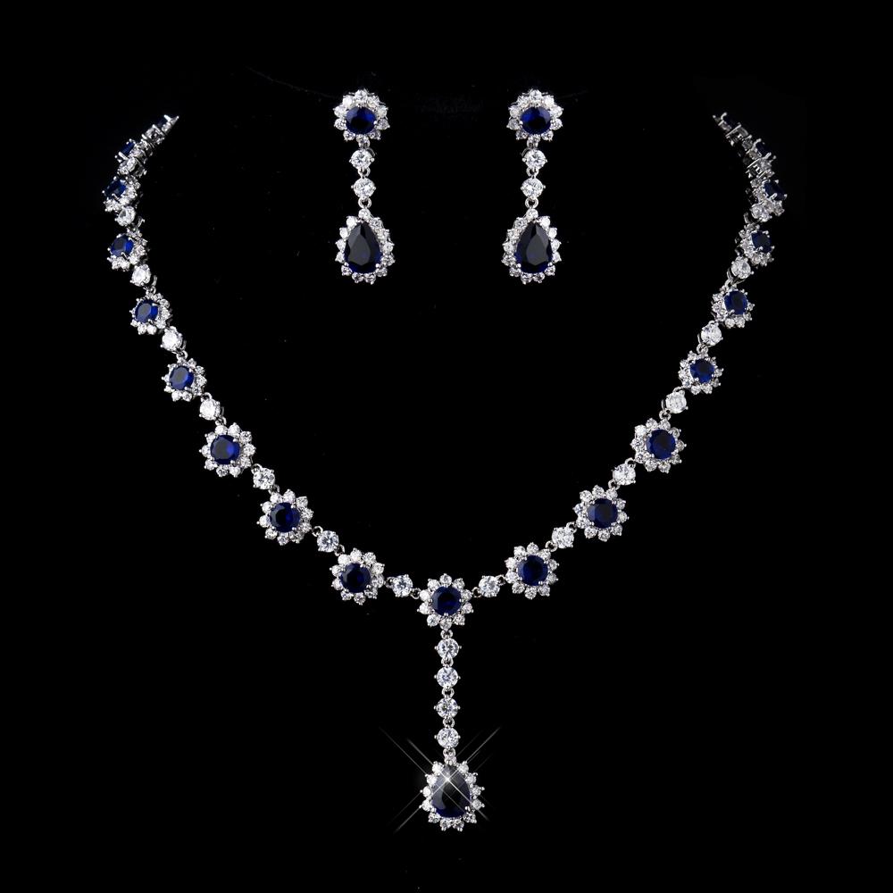 Mirabella Crystal Bridal Jewelry Set Elegant Bridal Hair