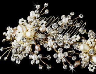 Pearl Bridal Comb