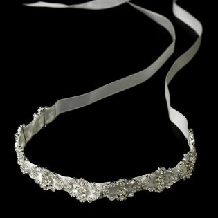 Crystal Ribbon Headband