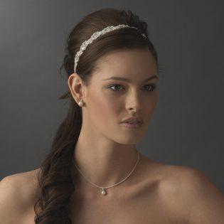 Crystal Ribbon Headband