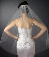 Rhinestone Veil