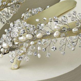 Bridal Wedge Flip Flops