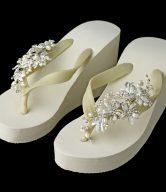 Pearl Bridal Flip Flops