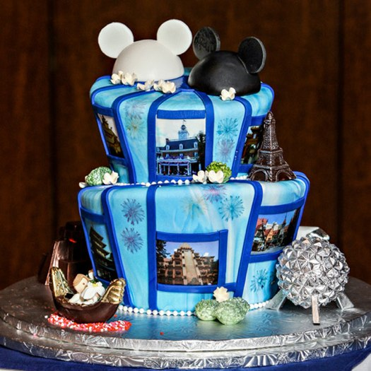 5 enchantingly amazing disney wedding cakes themes. Black Bedroom Furniture Sets. Home Design Ideas