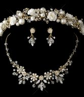 Tiara and Jewelry Set