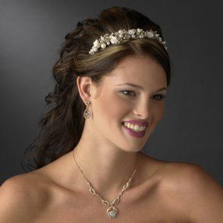 Tiara and Jewelry Set
