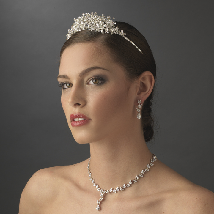 Starry Sky Tiara - Elegant Bridal Hair Accessories