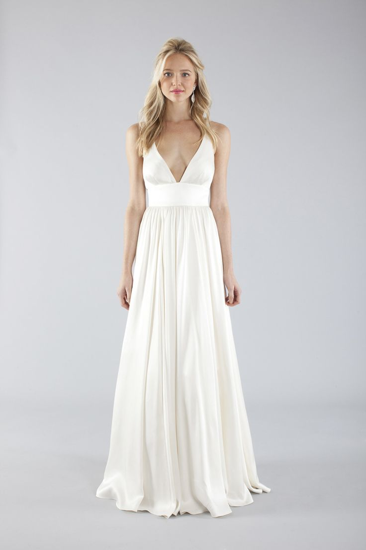 20 elegant simple wedding dresses for Cheap beach wedding dress