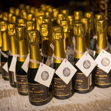 Mini Bottles Of Champagne Wedding Favors Gallery - Wedding ...