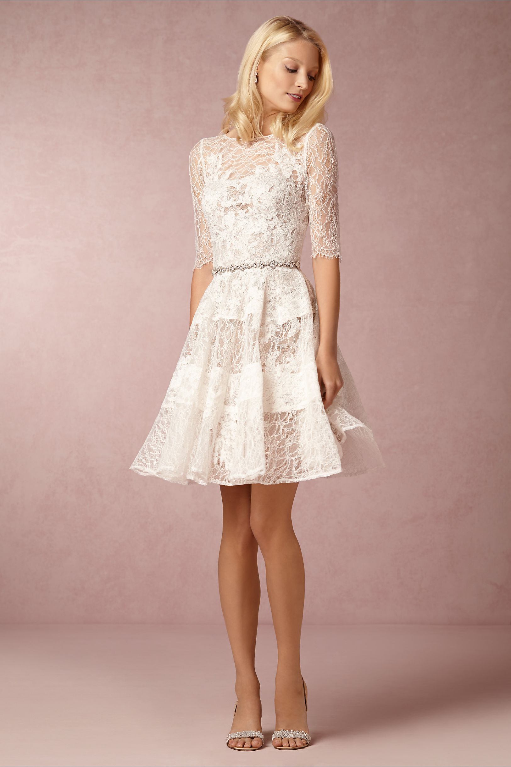 10 reasons to love short wedding dresses for Wedding dress for a short bride
