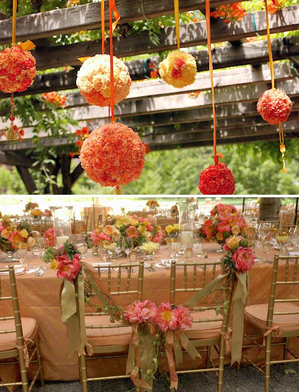 23 pretty spring wedding flowers and ideas bridaltweet for Pretty wedding decorations