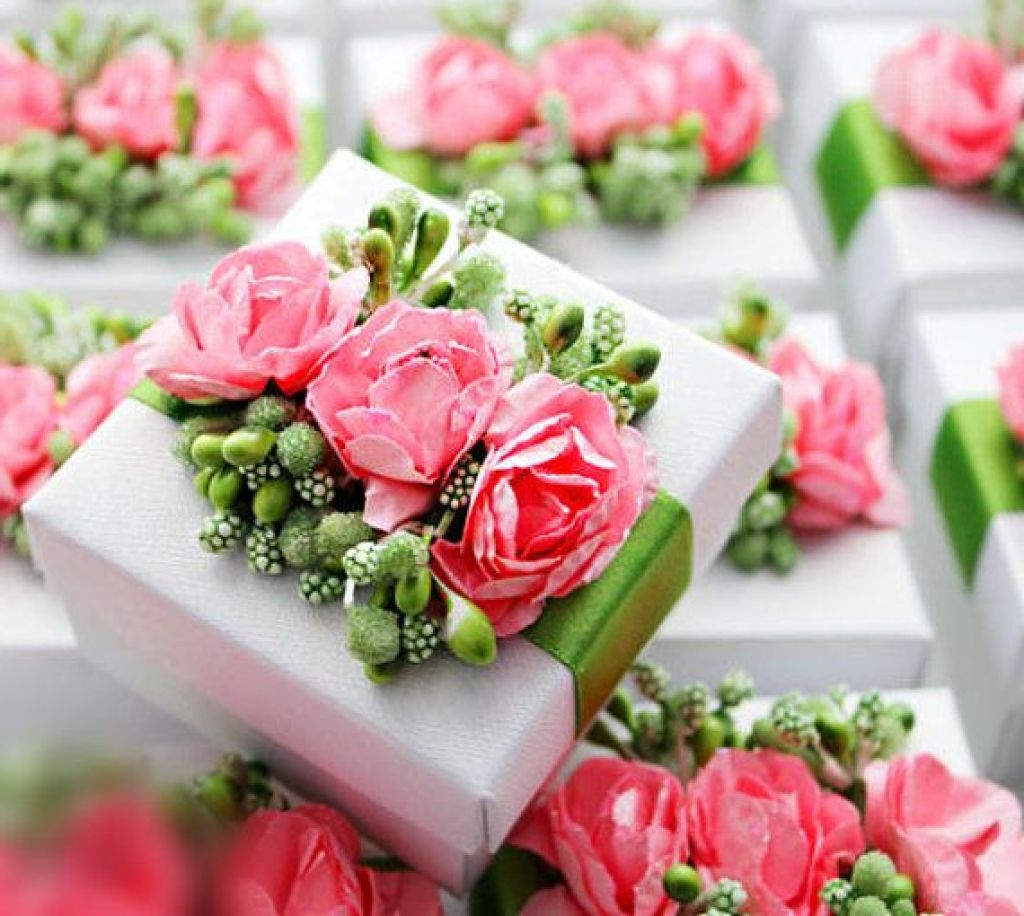 Spring Wedding Favors