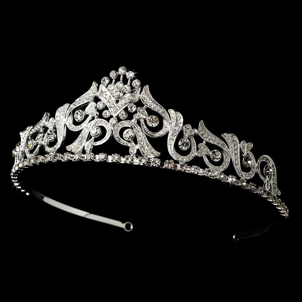 Bride Wedding Crown: Elegant Bridal Hair Accessories