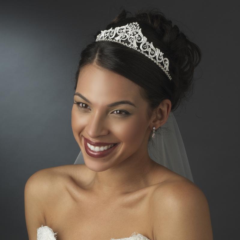 Nova bridal tiara crown elegant bridal hair accessories nova bridal tiara crown junglespirit Choice Image