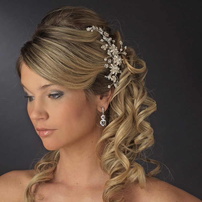 Kalvi Hair Vine Comb Elegant Bridal Hair Accessories