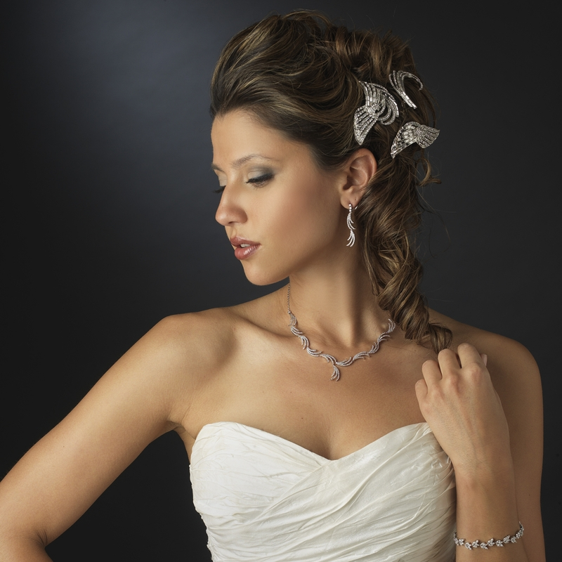 CZ Bridal Set