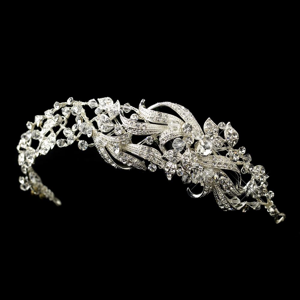 5fd3b045b856 Kassia Swarovski Rhinestone Headband - Elegant Bridal Hair Accessories