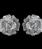 Clip On Bridal Earrings