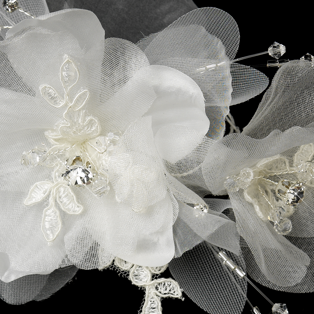 Lace Bridal Hair Clip