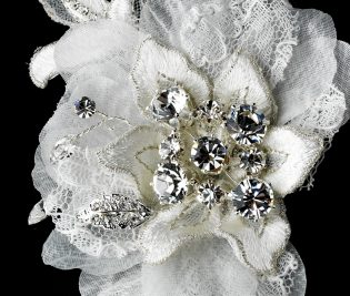 Flower Bridal Comb