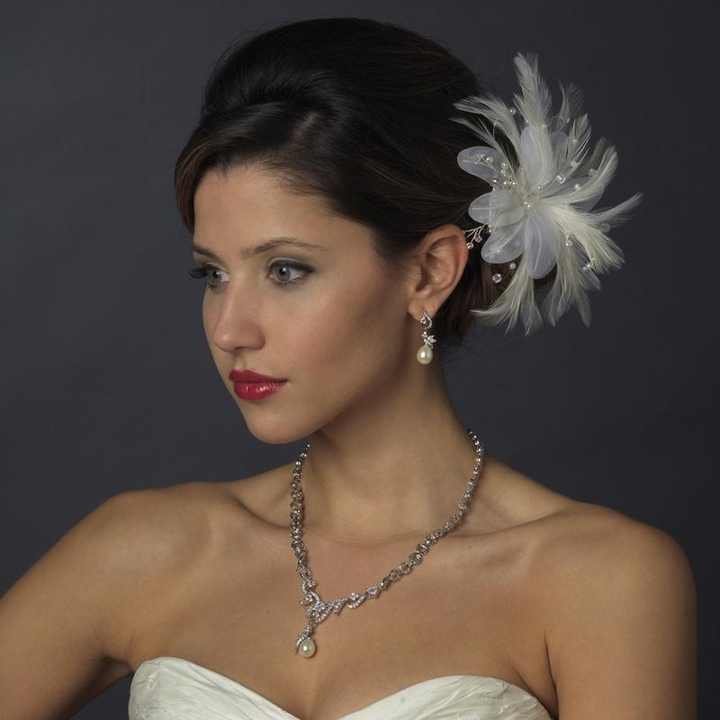 Ivory Pearl Bridal Jewelry Set