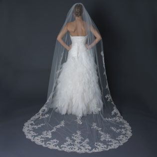 Single Layer Cathedral Veil