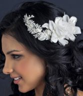 Lace Bridal Combs and Clips