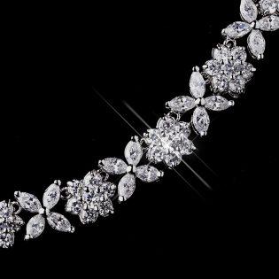 CZ Necklace & Earring Set