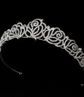 Rose Bridal Tiara