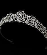Rose Bridal Tiara
